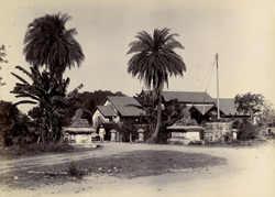 [Railway Station, Junagadh, from Reay Gate.]